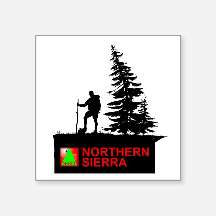 "SOTA Northern Sierra Square Sticker 3"" x 3"""
