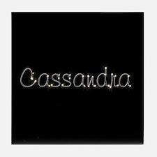 Cassandra Spark Tile Coaster