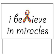 Unique Miracle Yard Sign