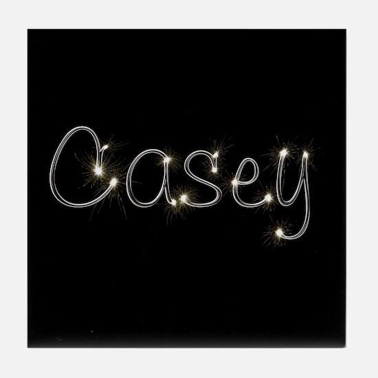 Casey Spark Tile Coaster