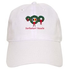 Romania Christmas 2 Baseball Cap