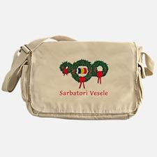 Romania Christmas 2 Messenger Bag