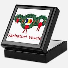 Romania Christmas 2 Keepsake Box