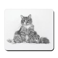 Fat Cat Mousepad