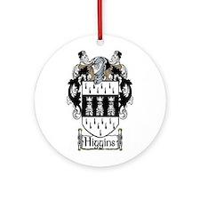 Cute Higgins coat arms Ornament (Round)