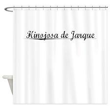 Hinojosa de Jarque, Aged, Shower Curtain