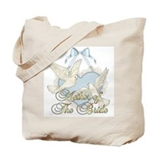 Wedding Doves -Mother of Bride Tote Bag