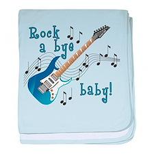 Cute Rock star baby blanket