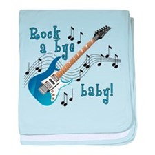 Unique Band baby blanket