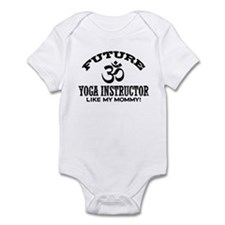 Future Yoga Instructor Infant Bodysuit