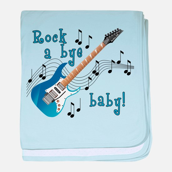 Unique American idol rock baby blanket