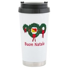 Sicily Christmas 2 Travel Coffee Mug
