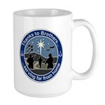 Masonic Christmas 2006. Peace on Earth Large Mug