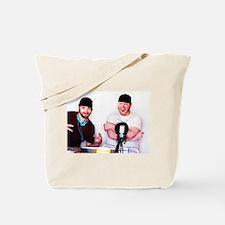BS & Beanie iTunes Logo Tote Bag