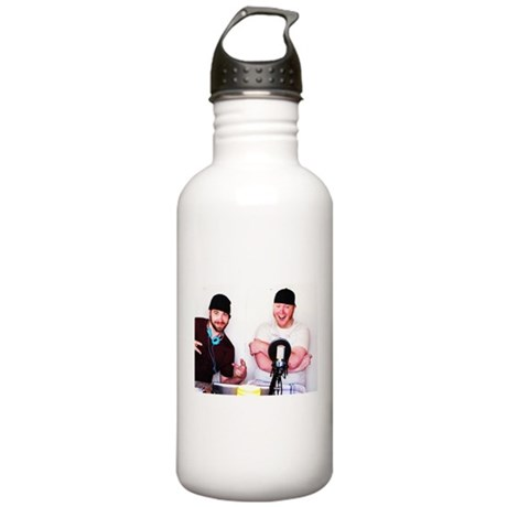 BS & Beanie iTunes Logo Stainless Water Bottle 1.0