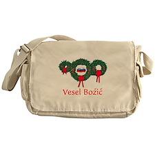 Slovenia Christmas 2 Messenger Bag