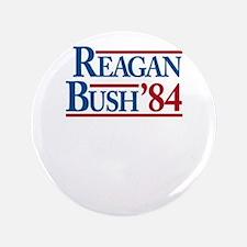 """ReaganBush84 3.5"""" Button"""