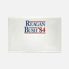 ReaganBush84 Rectangle Magnet