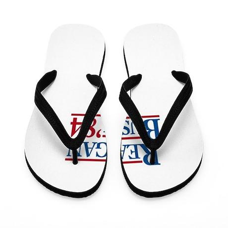 ReaganBush84 Flip Flops