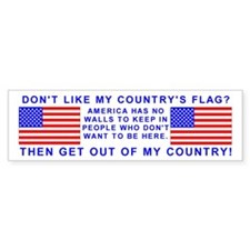 Don't like my country's flag?