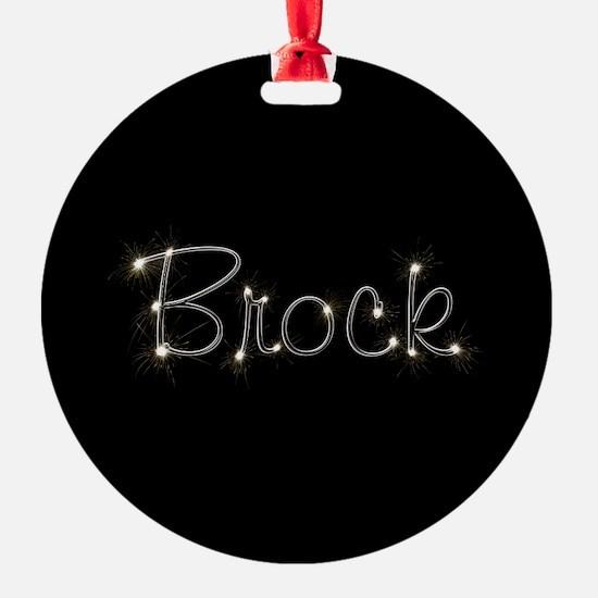 Brock Spark Ornament
