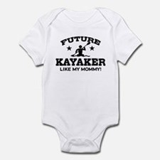 Future kayaker Like My Mommy Infant Bodysuit