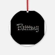 Brittney Spark Ornament (Round)