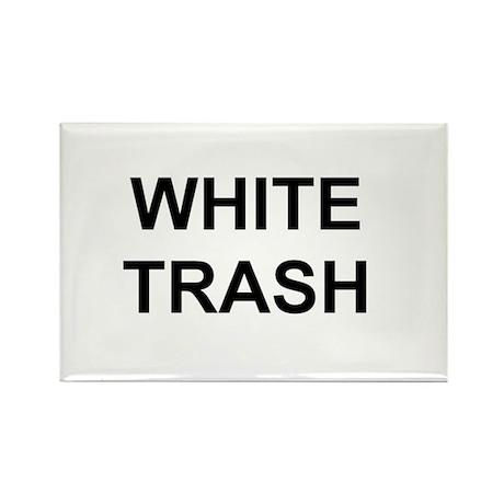 White Trash Attire Rectangle Magnet