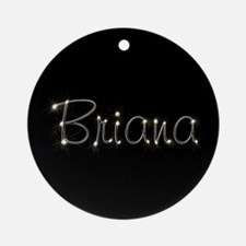 Briana Spark Ornament (Round)