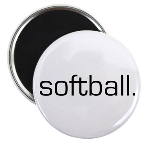 Softball Magnet