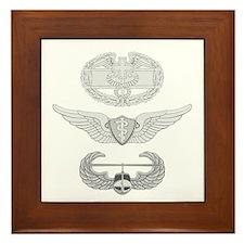 CFMB Flight Surgeon Air Assault Framed Tile