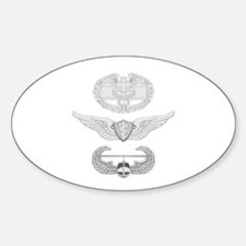 CFMB Flight Surgeon Air Assault Sticker (Oval)