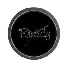 Brandy Spark Wall Clock