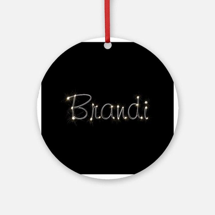 Brandi Spark Ornament (Round)