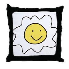Sunnyside Up Egg Throw Pillow