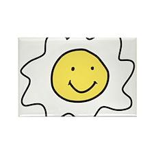 Sunnyside Up Egg Rectangle Magnet