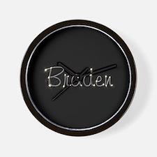 Braden Spark Wall Clock