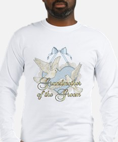 Wedding Doves - Grandmother of Groom Long Sleeve T