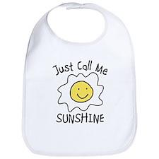 Just Call Me Sunshine Bib