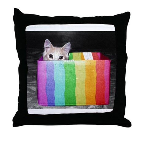 pictures with pride Throw Pillow