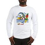 Dolphin Beach Long Sleeve T-Shirt