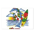 Dolphin Beach Postcards (Package of 8)