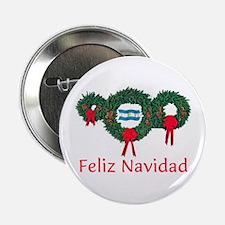 "Argentina Christmas 2 2.25"" Button"