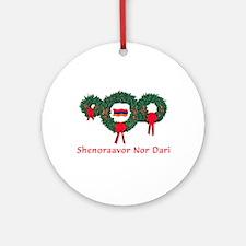 Armenia Christmas 2 Ornament (Round)