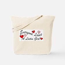 Loves a Latin Girl Tote Bag