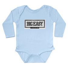 Big Easy Liqueur Black Logo Long Sleeve Infant Bod