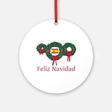 Spain Christmas 2 Ornament (Round)