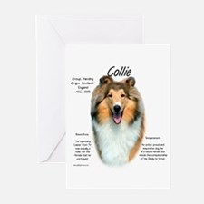 Rough Sable Collie Greeting Cards (Pk of 10)