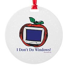 Apple Computer Ornament