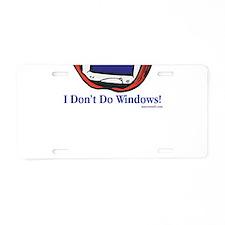 Apple Computer Aluminum License Plate